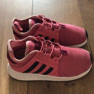 Pink Adidas Shoes (little girls)